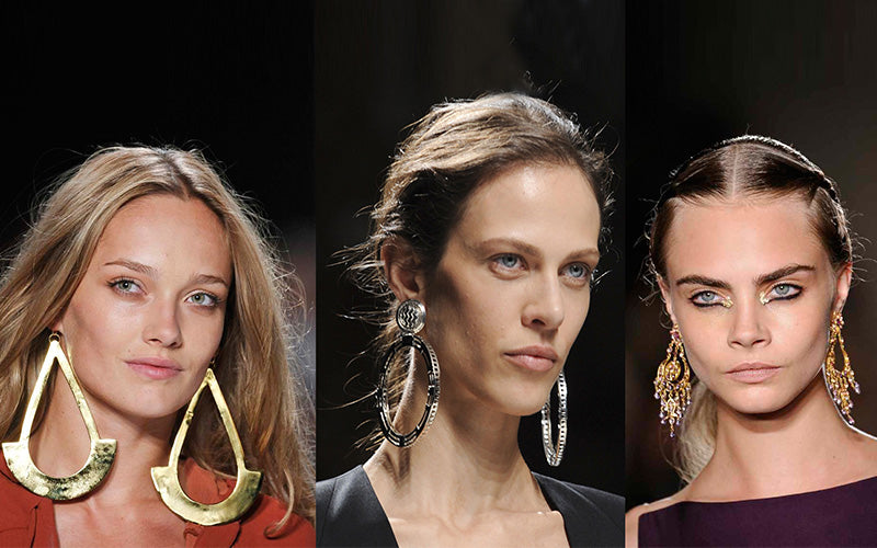 Your Summer Makeup-Statement Earrings