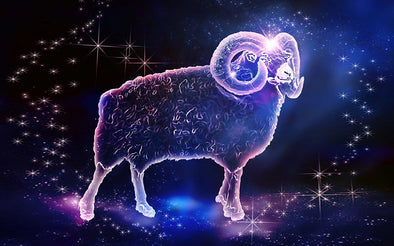 fantasy picture of Aries In the universe