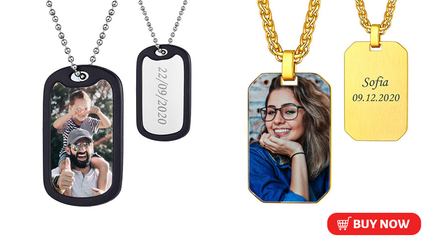 military dog tag for men