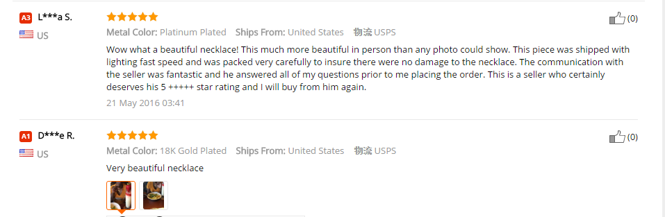 U7 Jewelry Reviews