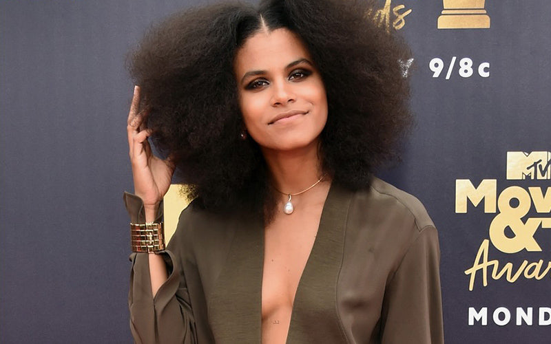 MTV Movie & TV Awards 2018 Red Carpet Best Dressed Celebrities-ZAZIE BEETZ