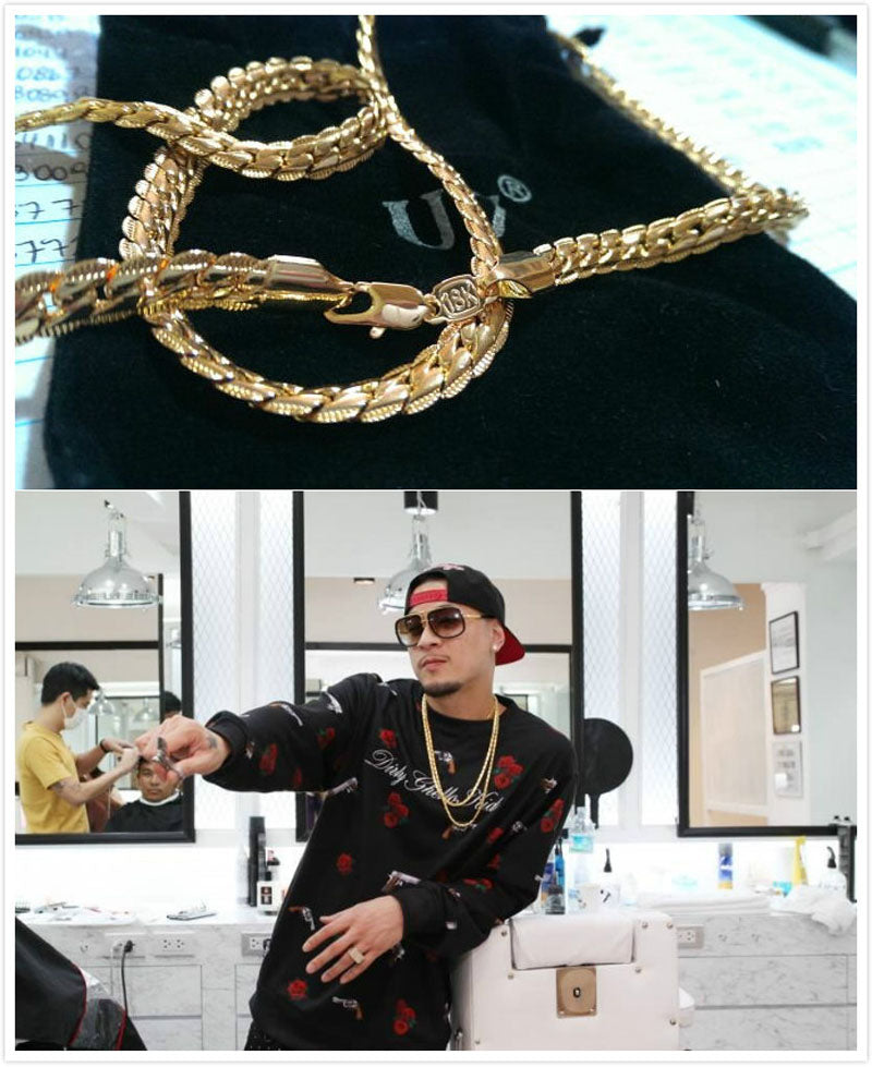 5 Styles of Necklace for Men-gold chain