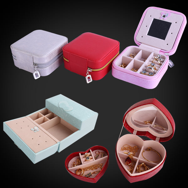 Portable Jewelry Box for Back to School