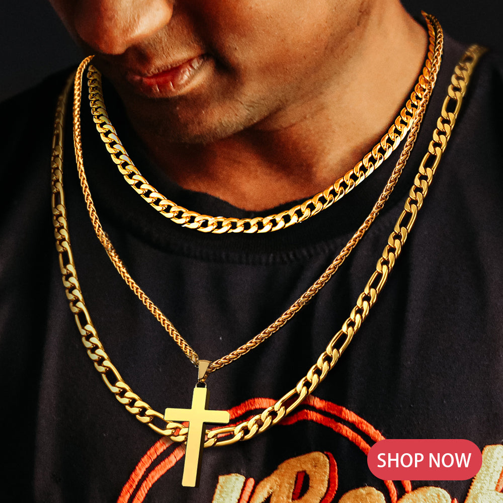 Figaro Gold Chain Necklace