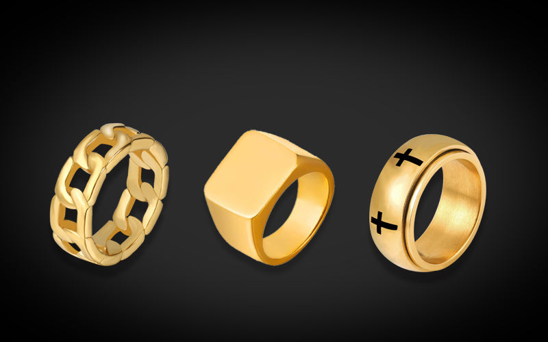 Hip Hop style ring