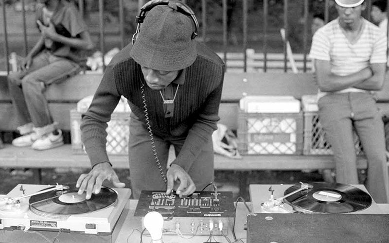 Hip Hop History in the Bronx DJing