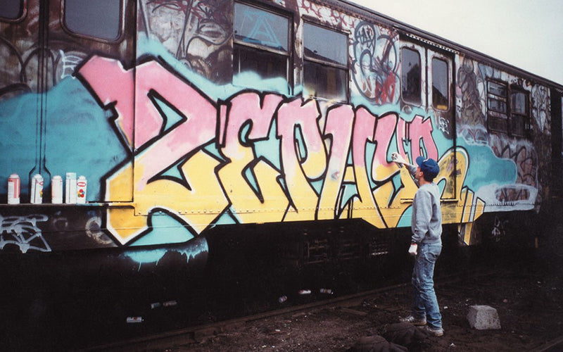 Hip Hop History in the Bronx Graffiti