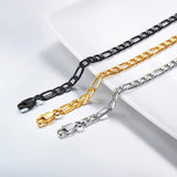 figaro chain for men and women U7 Jewelry