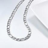 Gold Plated Hip Hop Figaro Chain Necklace For Men And Women