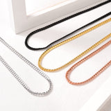 4.5mm Wide Dense Thick Miami Cuban Link Chain Necklace For Men And Women