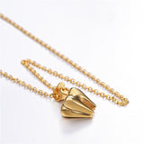 18K Gold Plated Tool Pendant Necklace Dentist Jewelry Gifts For Men