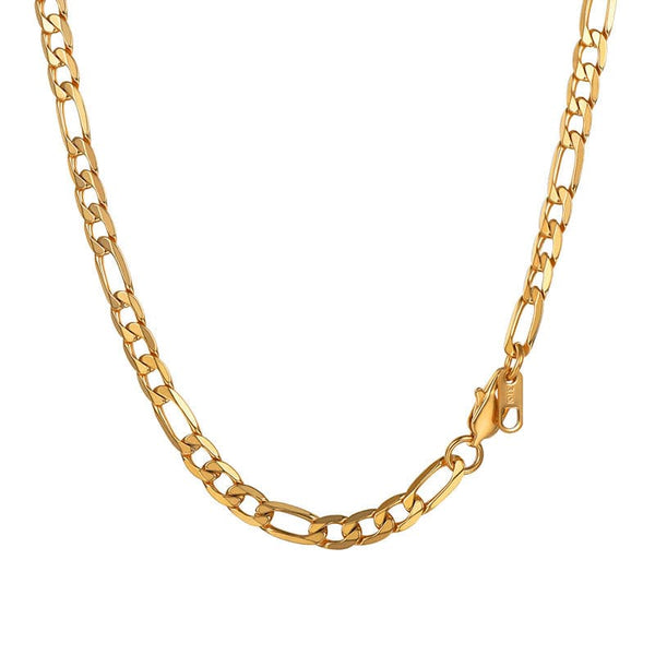 Hip Hop Figaro Chain Necklace For Men And Women