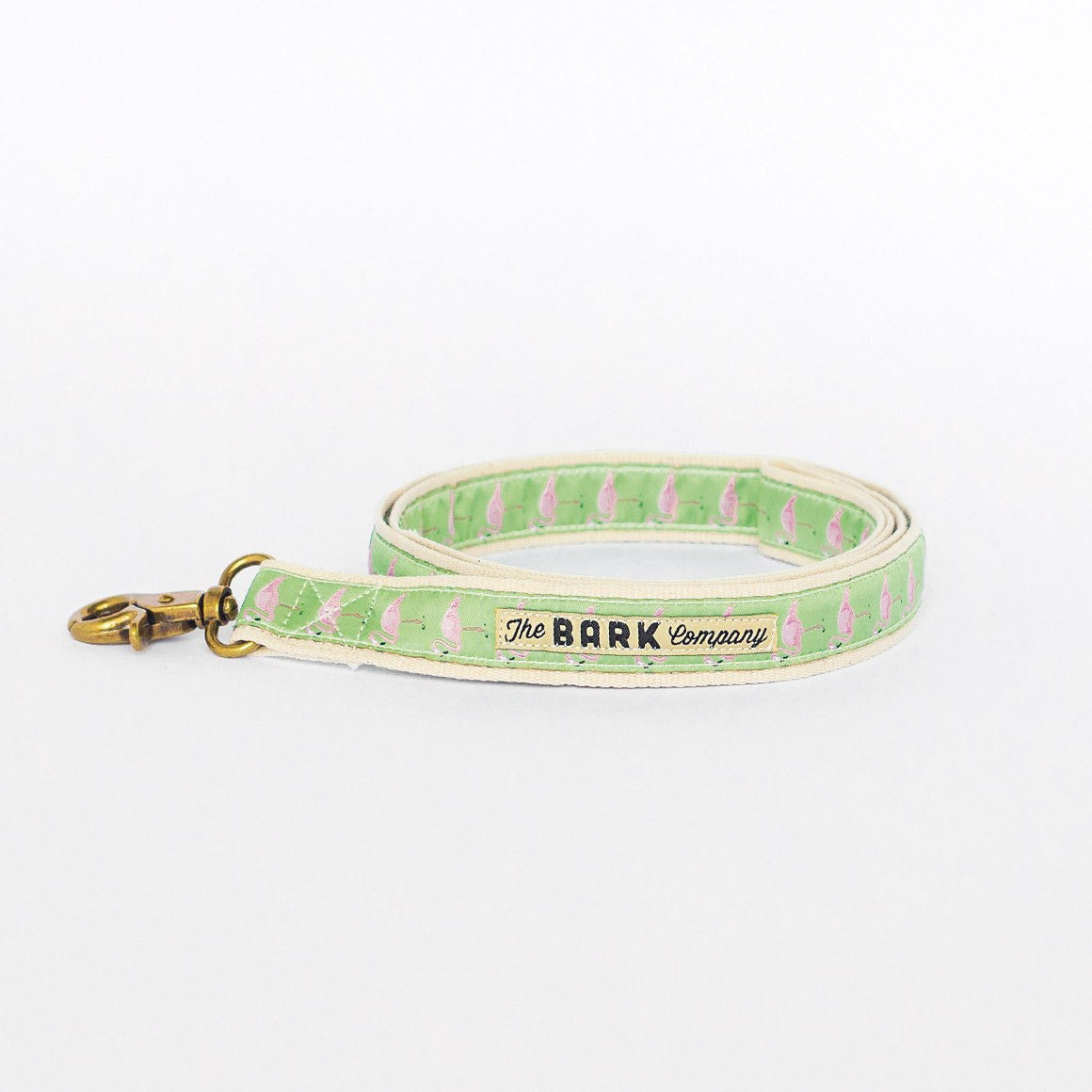Flamingos dog leash from The Bark Co - 1