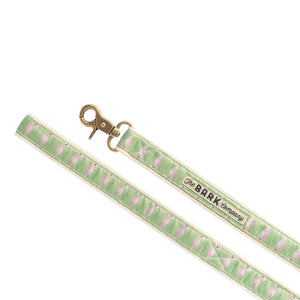 Flamingos dog leash - The Bark Co. Handmade dog Leash