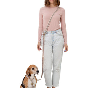 Lisboa dog leash - The Bark Co. Handmade dog Leash