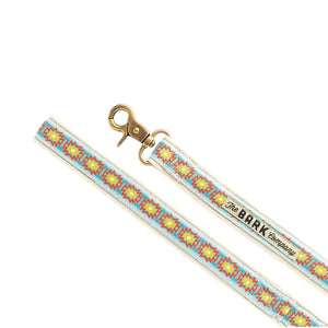 Navajo dog leash - The Bark Co. Handmade dog Leash