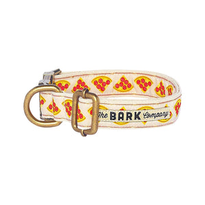 Pizza Dog Collar - The Bark Co. Handmade dog Collar
