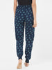 Loco En Cabeza Printed Rayon Elasticated Bottom Lounge Pant CZWPY0018