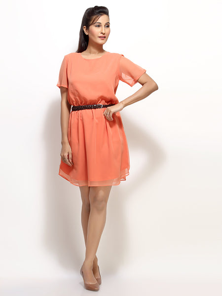Layered / Tiered short dress for Women. Shop Online in India with Loco En Cabeza