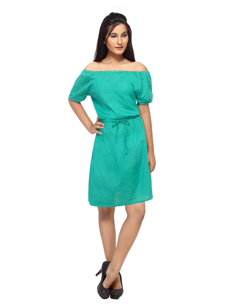 Buy Online in India - Short dress for Women in 100% polyester georgette.