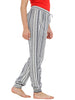Loco En Cabeza Printed/ Striped Elasticated Bottom Lounge Pant CZWPY0009