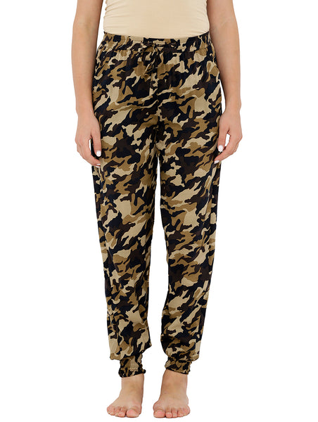 Loco En Cabeza Printed Elasticated Bottom Lounge Pant CZWPY0013