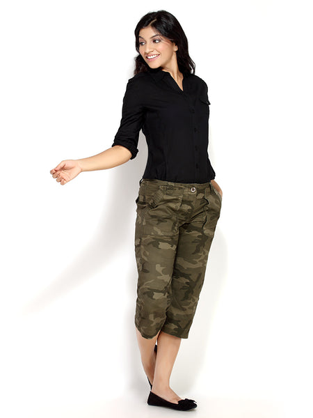 Women's Capri / 3/4 pant | Shop Online in India from Loco En Cabeza