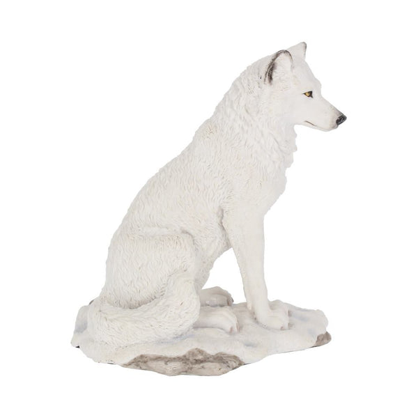 Animal Sculpture - White Wolf
