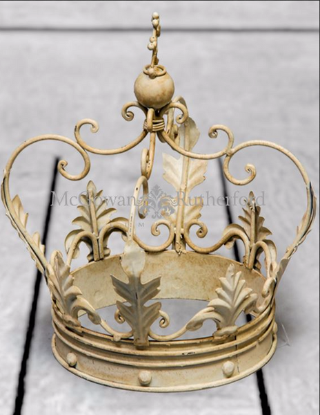 Decorative Crown small white
