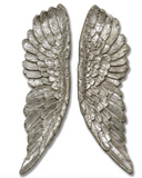 Medium  Silver Wings  –  Pair of Angel Wings