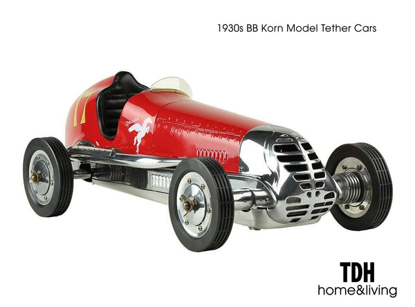 BB Korn Grand Prix Race Car – Red –  Scale Model 1:8 scale