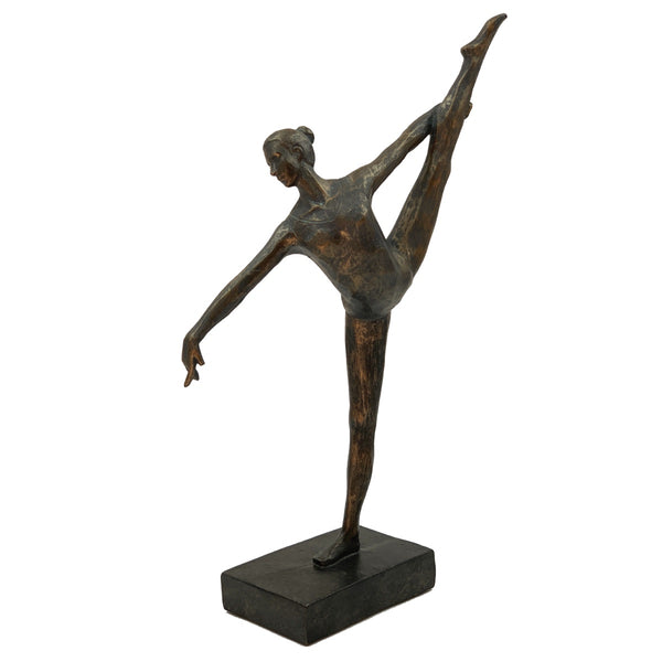 Sculptures –  Bronze Effect Ballerina Ballet Dancer