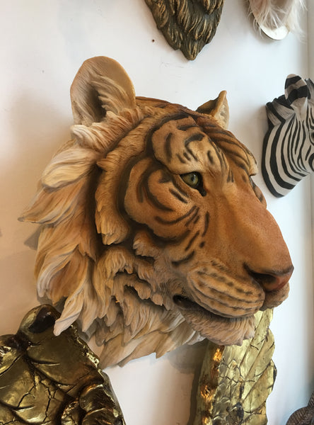 Tiger Head - Large Indian Tiger Wall Head Jungle Book