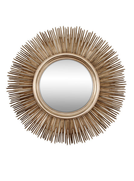 Modern & Glamours Sun Mirror, Hollywood Regency Starburst Mirror