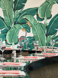 Original Martinique Wallpaper – Beverly Hills Banana Leaf Wallpaper – Authentic