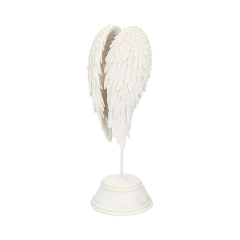 Angel Wings  – White on Base –  Gothic Fantasy