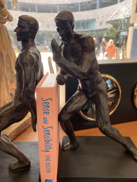 Two men Bookends -
