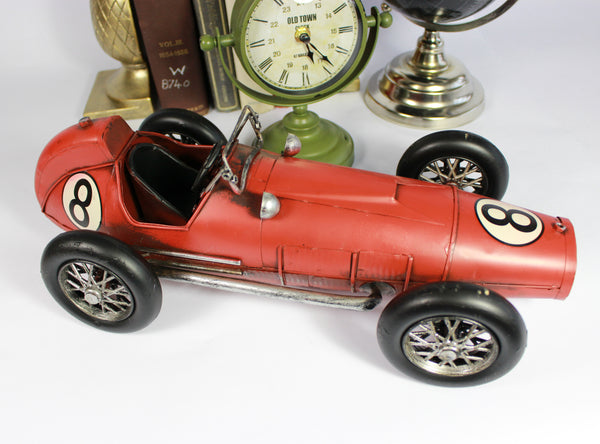 Red Model Racing Cars – Retro Cars – Sports Cars – Dad's Gift