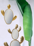 Cactus Mirrors, Wall Mirrors, Hollywood Regency, Botanical Living