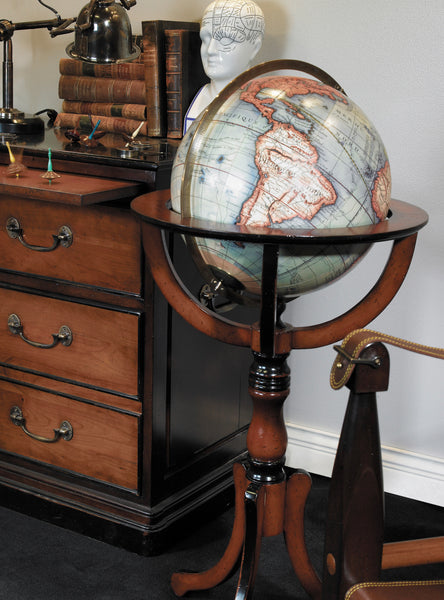 Classic Vintage Library Globe Replica  – Antique World Globe – Vaugondy Large Globe