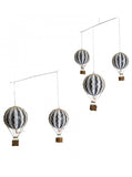 Hot Air Balloon Mobile – Vintage Balloons – Nursery Decor – Black & White Balloon Mobile