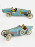 Car Bugatti – Original Paya Classic Car Model Limited Edition – Grand Prix Blue Race Car 50cm