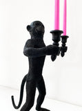 Monkey Candle Holder Double Candles – Funny Cheeky Monkey Centrepiece