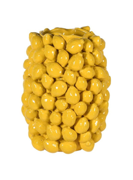 Lemon Vase – Yellow Lemon Vase Ceramic