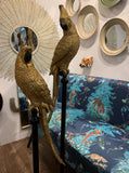Gold Parrot on Pilar –  Floor Standing Tropical Birds –  Golden Toucan