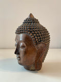 Buddha head  – Antique wooden effect