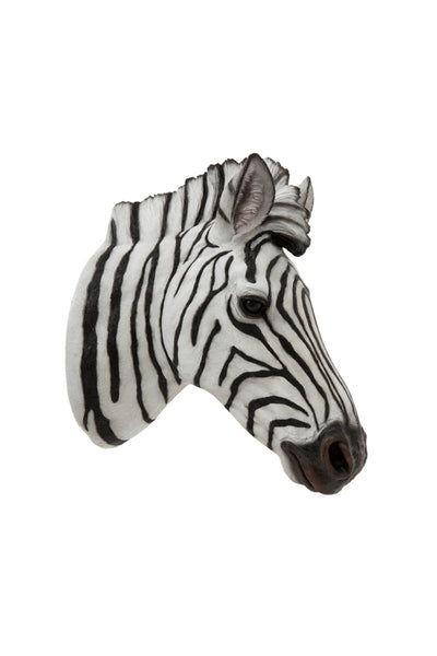 Zebra Head – Hand Painted Zebra Head Wall Art