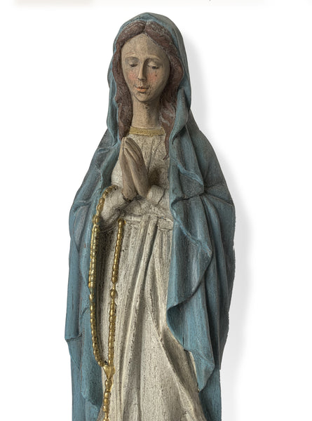 Mary Statue – Christian Art – Religious Sculptures – Statue of Mary