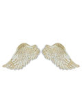 White Angel Wings – Small Pair of Wings – Wall Hanging Wings