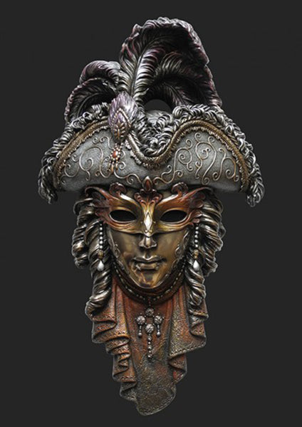 Mask Ornament wall decoration –  Venice Carnival Mask – Venetians Mask MALE